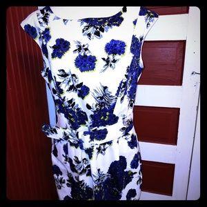 Helene Berman London Floral Dress 12